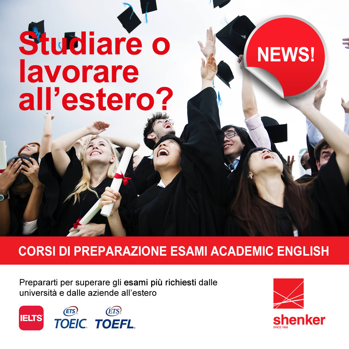 Corsi Shenker academic english